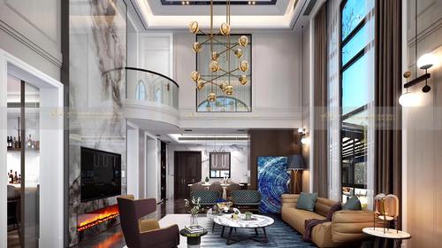 优雅与精致的美式豪宅