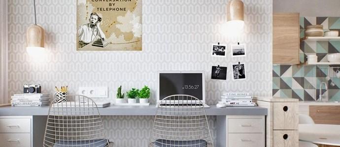 40㎡房子里,完美拥有厨房卧室休闲区以及洗衣房!